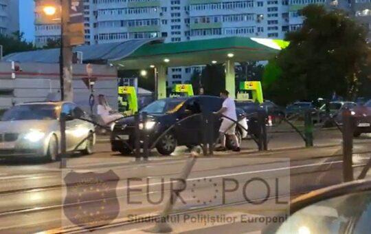 Video: Scene șocante surprinse în traficul din București