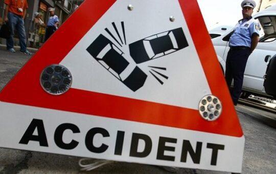 Patru persoane au fost rănite într-un accident la Bâlta, Gorj
