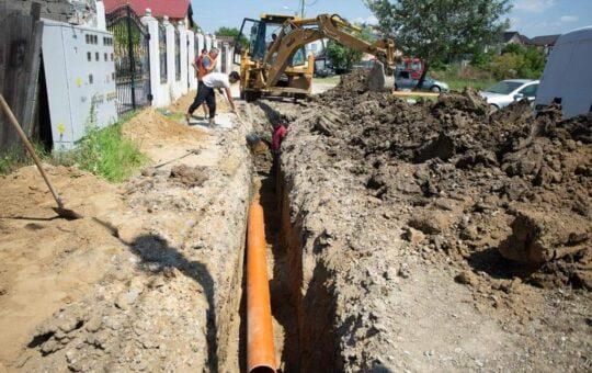 Extindere rețea de canalizare, la Craiova