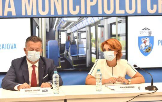 Tramvaie noi pentru Craiova